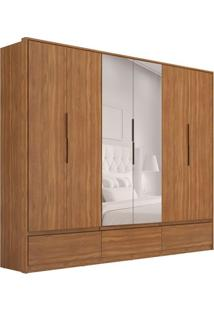 Guarda-Roupa Casal Com Espelho Moara I 6 Pt 7 Gv Amêndola
