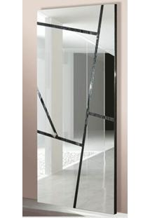 Espelho Pacific Com Moldura Carvalho Preto 2,00 Mt - 14388 - Sun House