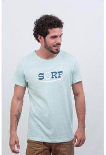 Camiseta Listrado Geriba Surf Smile Rj Masculina - Masculino-Azul