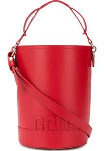 abbd825db5 Bolsa Bucket Vermelha feminina