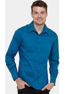 Camisa Forum Slim Fit Masculina - Masculino