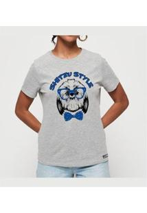 T-Shirt Shitzu Style Buddies Feminina - Feminino