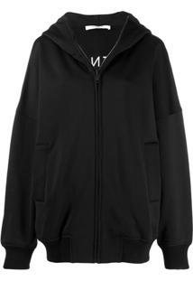 Givenchy Moletom Oversized Com Estampa De Logo - Preto