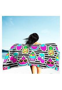 Toalha De Praia / Banho Cute Summer Único