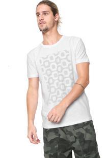 Camiseta Osklen Estampada Preta