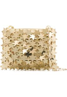 Paco Rabanne Iconic 1969 Star Chainmail Bag - Dourado