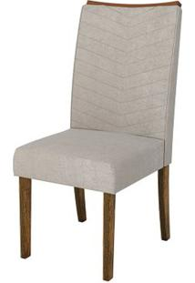 Cadeira Serena 2 Peças - Demolição Com Pena Bege