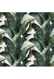 Papel De Parede Stickdecor Adesivo Bananeira 100Cm L X 300Cm A - Verde - Dafiti