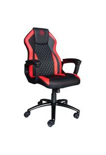 Cadeira Gamer Elements Gaming Elemental Ignis Couro Pu