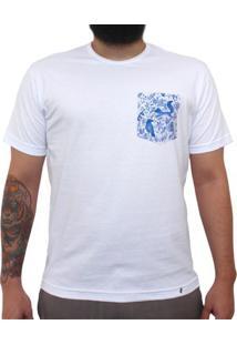 Desentendidos - Camiseta Clássica Com Bolso Masculina