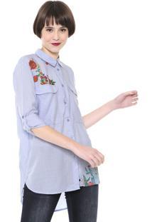 Camisa Desigual Miriam Azul