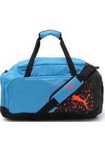 Mala Puma Liga Medium Bag Azul