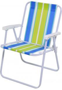 Cadeira Alta Aço 2002 Diversas Cores Mor