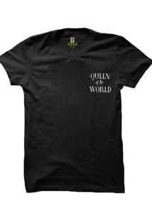 Camiseta Masculina Joss Queen Of The World Preto