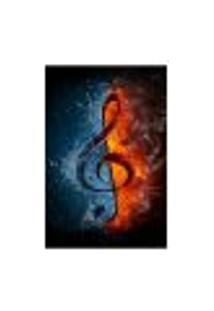 Painel Adesivo De Parede - Clave De Sol - Música - 1582Pnp