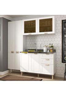 Cozinha Completa 3 Peças Americana Multimóveis 5673 Branco