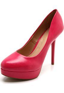 f8895809a9 Scarpin Fiveblu Rosa feminino