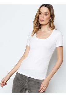 Camiseta Canelada - Brancacanal