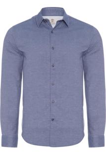 Camisa Masculina Parker - Azul
