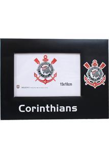 Porta Retrato Minas De Presentes Papelão Para Uma Foto 15X10Cm - Corinthians Preto