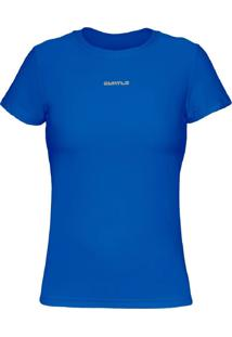 Camiseta Curto Active Fresh Mc – Azul Gg - Kanui
