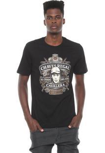 Camiseta Cavalera Chaves Regal Preta