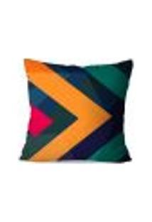 Capa De Almofada Avulsa Decorativas Color Abstrato 35X35