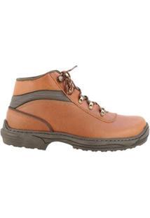 Coturno Country Hb - Agabê Boots - Solado De Borracha Masculino - Masculino-Laranja Escuro