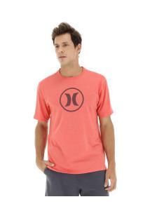 Camiseta Hurley Silk Círculo - Masculina - Vermelho