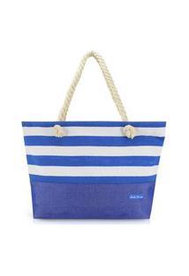 Bolsa De Praia Jacki Design - Azul Azul