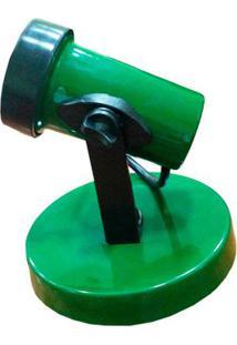 Spot Para Lâmpada Par 20, 30 Ou 38 Verde Ideal