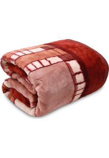 Cobertor Casal Jolitex Tradicional Invernes Marrom