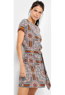 cc6307b93 Vestido Azul Etnico feminino | Shoelover