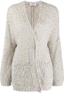Snobby Sheep Sequinned Cardigan - Neutro