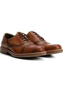 Sapato Casual Couro Walkabout Brogues - Masculino
