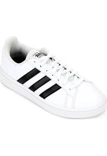 Tênis Adidas Grand Court Base Feminino - Feminino-Off White