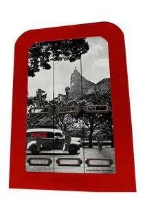 Porta Chaves De Madeira Coca Cola Rio De Janeiro