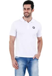 Camisa Polo Masculina Urbano - Branco