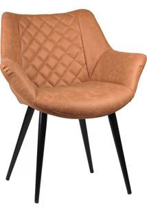 Cadeira Cinara Caramelo Rivatti Móveis
