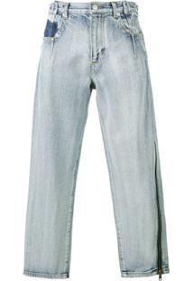 3.1 Phillip Lim Calça Jeans Com Zíper - Azul