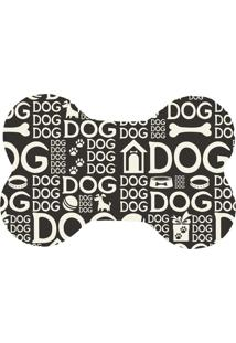 Tapete Love Decor Pet Wevans Dog Dog Preto Único