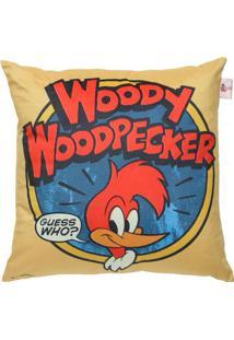 Capa Para Almofada Woody Woodpeckerâ®- Amarelo Escuro & Aurban