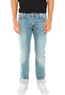 Calça Jeans Levis Manchas Azul