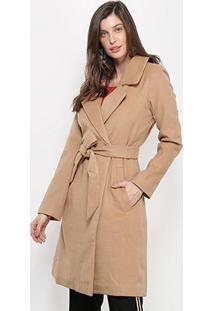 Casaco Trench Coat Colcci Feminino - Feminino