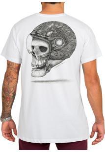 Camiseta Urza Skull Rider Branca