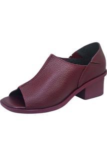 Sandália S2 Shoes Moca Grená