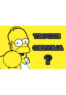 Capacho Homer Simpson Trouxe Cerveja? – Masterkap - Estampado
