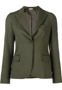 P.A.R.O.S.H. Blazer Com Abotoamento Único - Verde