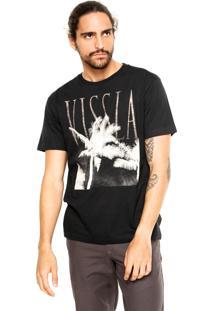 Camiseta Vissla Stretched Preta