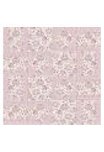 Papel De Parede Autocolante Rolo 0,58 X 3M - Azulejo Floral 280596518
